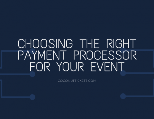 Choosing the right payment processor for your event